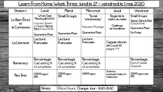 LFH Week 3