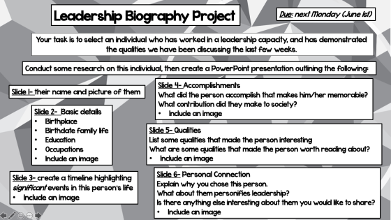 Leadership Biography