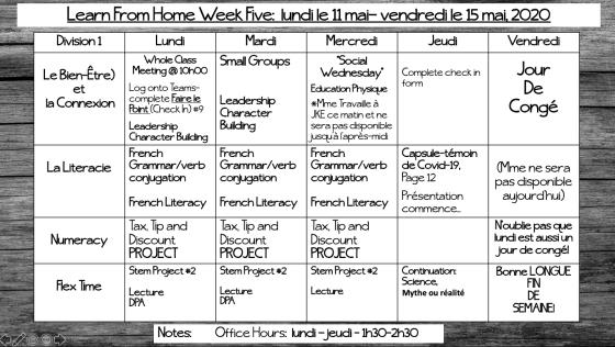 LFM Week 5