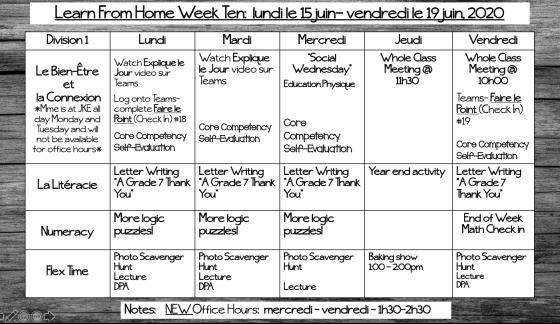 LFH Week 10